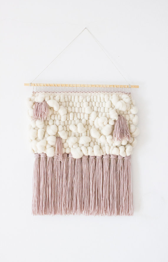 I've been lusting over some beautiful woven hanging wall art on Etsy and couldn't help but share them with you. Definitely take a look at my weave Pinterest board too, there's so many beautiful designs on there.