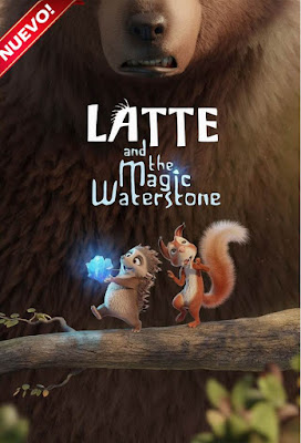 Latte & The Magic Waterstone 2019 DVD HD DUAL LATINO 5.1 + SUB