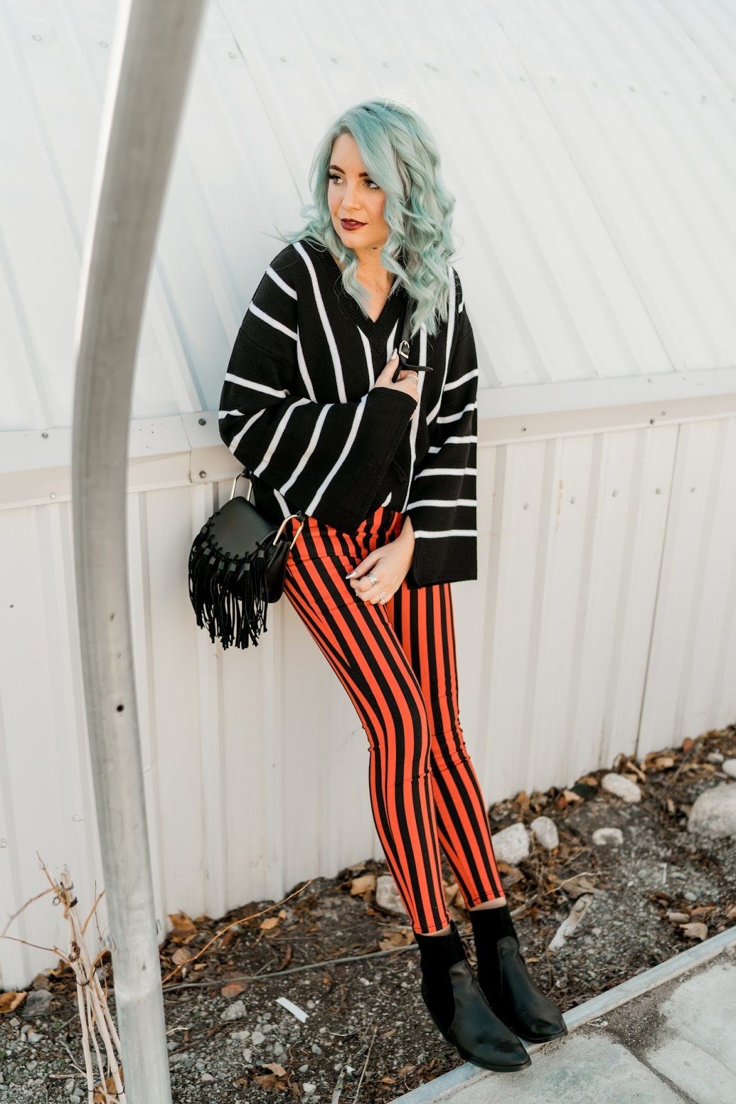 stripes on stripes, Utah fashion blogger, maternity fashion