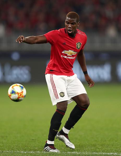 Paul Pogba on the ball