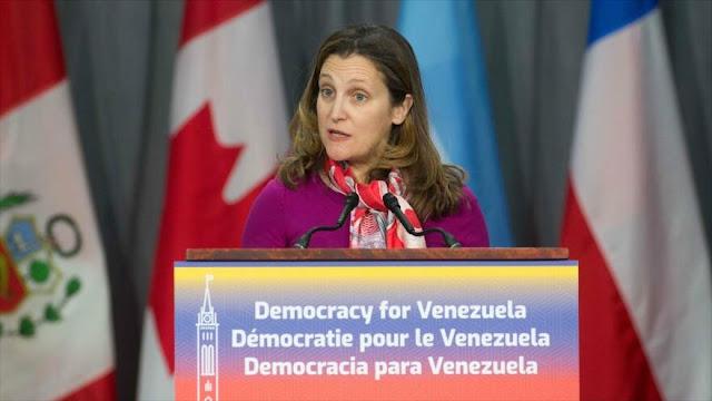 Canadá impone sanciones contra 43 funcionarios venezolanos