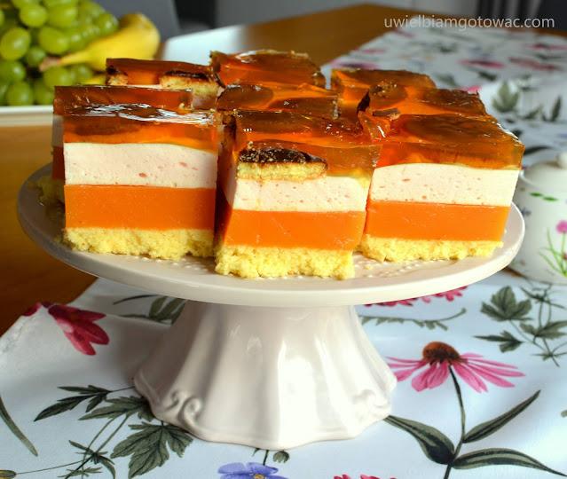 Ciasto Kubuś z delicjami