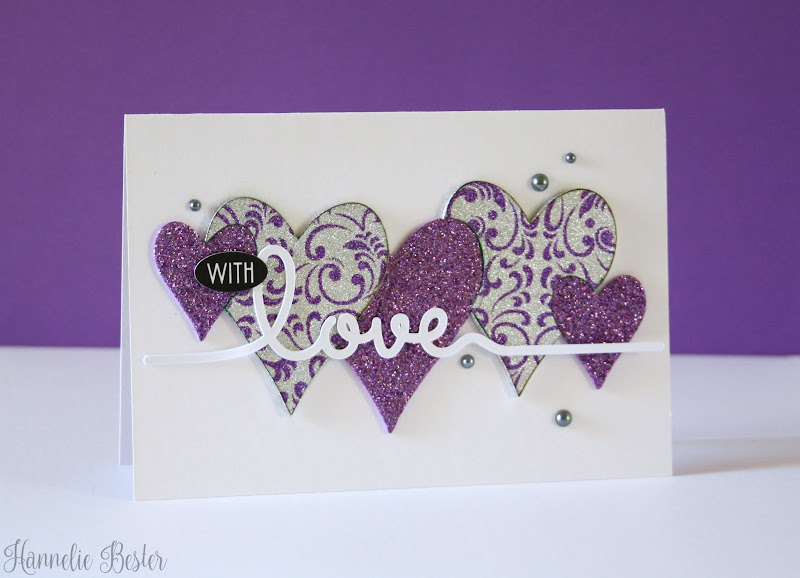 purple hearts cards