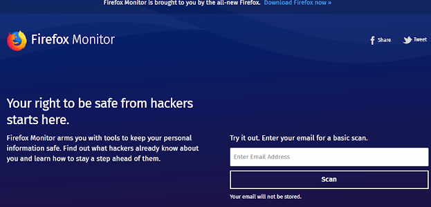 Firefox firefox service to protect users from hacking