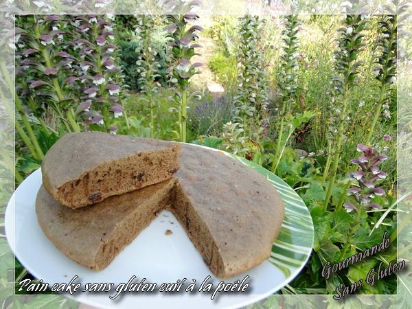 Pain cake cuit à la poêle pandant l'été