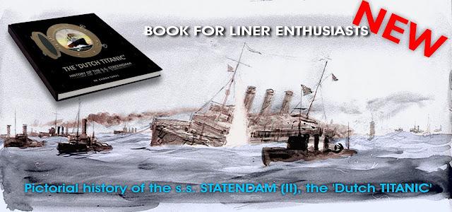 "Books - The Dutch ""TITANIC"" the second STATENDAM sunken as JUSTICIA"