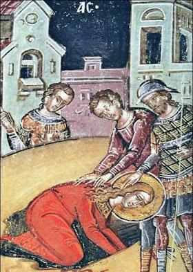 Ο Πρίσκος υπέβαλε την Αγίαν εις νέον μαρτύριον
