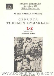 Ali Rıza Yalman - Cenupta Türkmen Oymakları