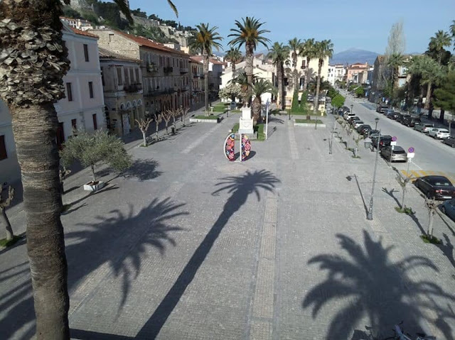 Δήμος Ναυπλιέων: Ξεκινάει τρίτος κύκλος απολυμάνσεων σε δημόσιους χώρους