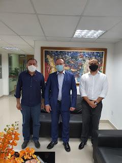 Presidente do Iterma se reúne com vice-governador Carlos Brandão