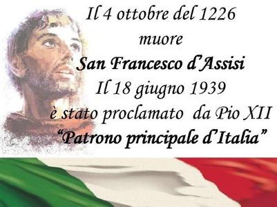 Risultati immagini per proclamato patrono d'italia