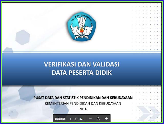 Kumpulan Panduan Verval PD 2016-2017 Versi Terbaru