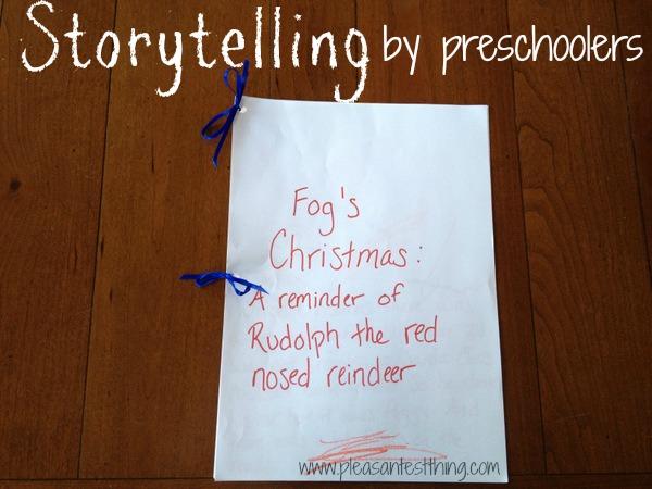preschooler storytelling