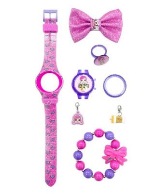 Розовые наручные часы для детей L.O.L.