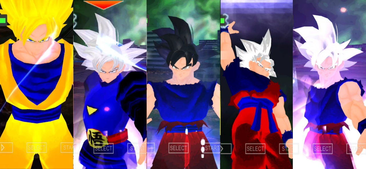 Goku Mastered Ultra Instinct in DBZ Raging Blast