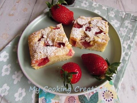 Сладкиш с ягоди и бадеми * Torta fragole e mandorle