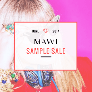 Mawi Sample Sale June 2017