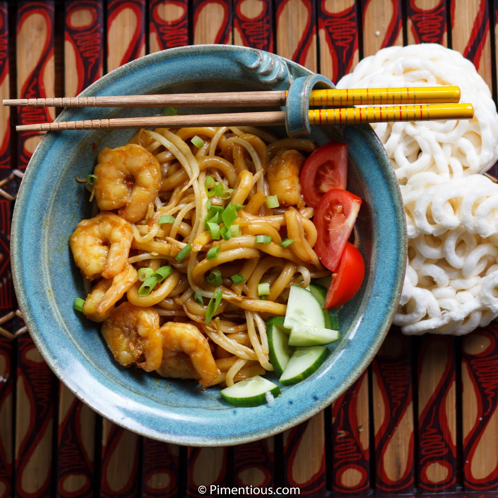 Mie Aceh Curry Udon From Aceh Pimentious
