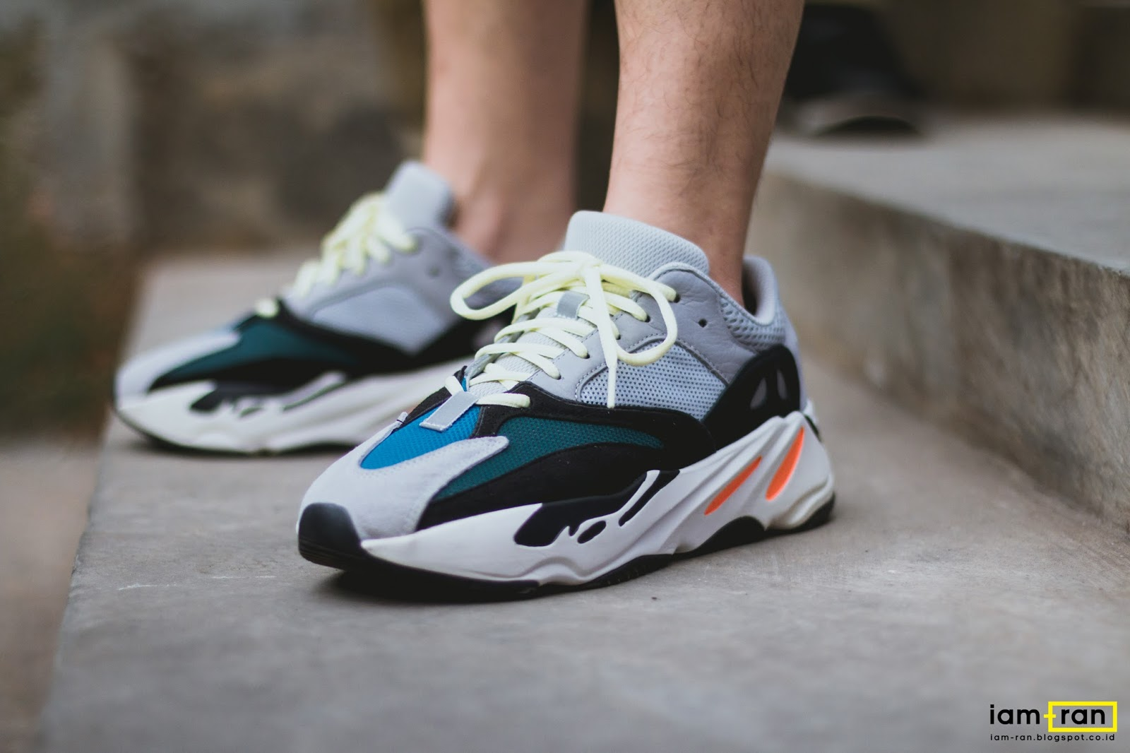 low priced ae064 3e823 IAM-RAN: ON FEET : Dimas indro - Adidas Yeezy 700