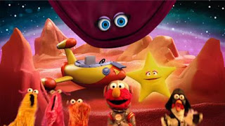Elmo the Musical Pizza the Musical. Elmo, the Martians, velvet, Darth Chicken, Sesame Street Episode 4322 Rocco's Playdate season 43