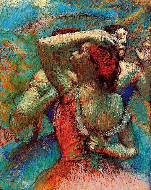 Эдгар Дега - Танцовщицы (1900)