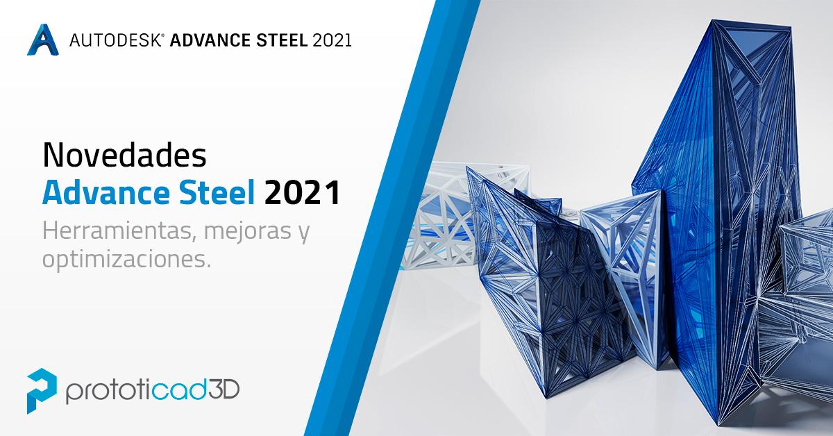Novedades de Advance Steel 2021