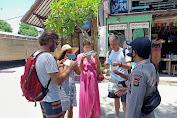 Polsubsektor Gili Indah Edukasi dan Ajak Wisatawan Peduli Prokes intuk Cegah Claster baru