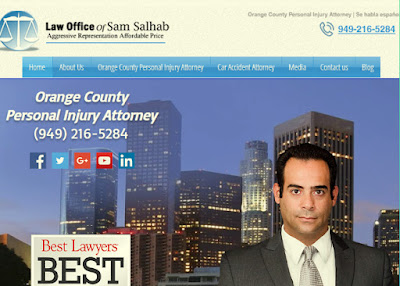 Orange County Personal Injury Lawyer - Sam Salhab