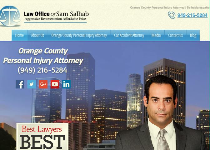 Local Car Accident Attorney in Santa Ana California