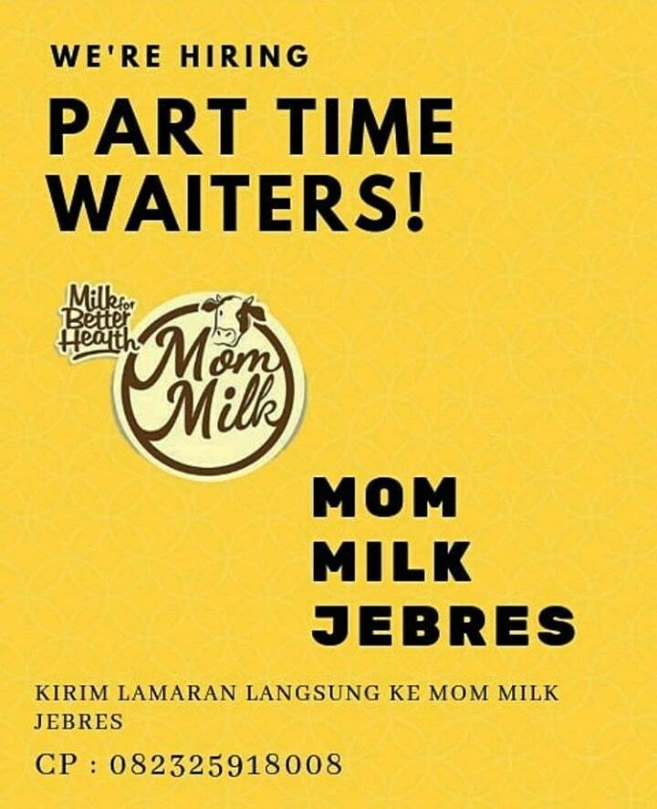 Lowongan Kerja Part Time Di Mom Milk Jebres Solo Bursa Lowongan Kerja
