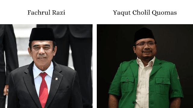 menteri baru agama