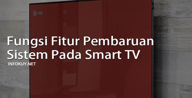 Fungsi Fitur Pembaruan Sistem Pada Smart TV