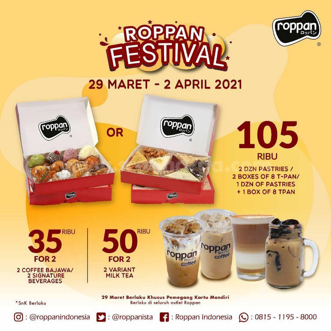 ROPPAN Festival - Promo Paket Spesial harga mulai 35 Ribu