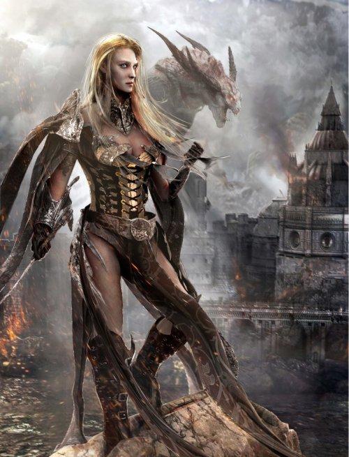 Joseph Joe C-Knight artstation deviantart arte ilustrações fantasia ficção mitologia sombria games