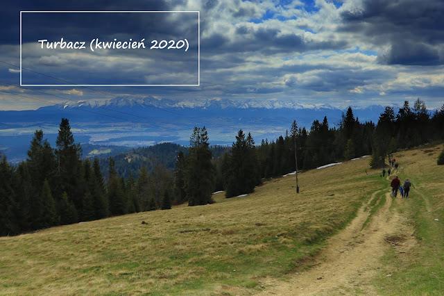 Relacja z Turbacza, najwyższej góry Gorców (1314 m n.p.m.)