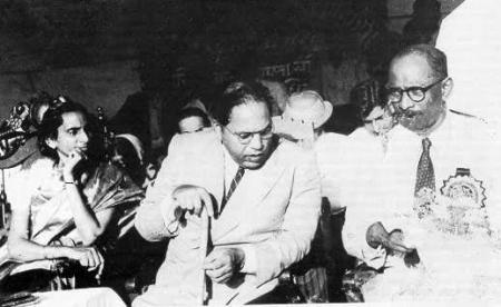 Annai Meenambal Shivaraj, Dr. Ambedkar and Thanthai N. Sivaraj