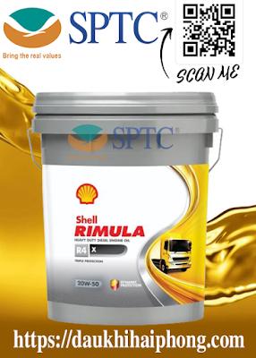 Dầu nhớt động cơ Shell Rimula R4 X 20W-50 chính hãng tại Hải Phòng