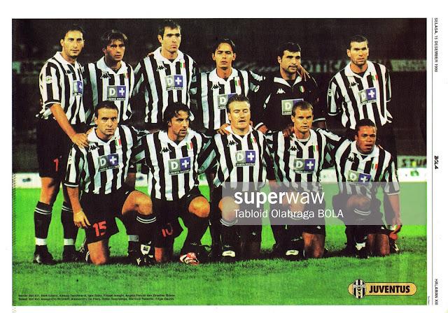 JUVENTUS FC 1998 TEAM SQUAD