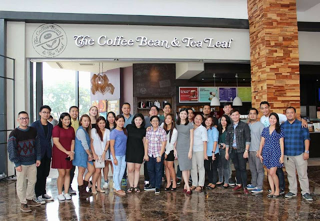 The Cebu Bloggers Society Members during CBTL Giving Journal 2017 Launch