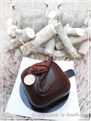 Pâtisserie chocolatée au Bar à chocolat  Hugo & Victor