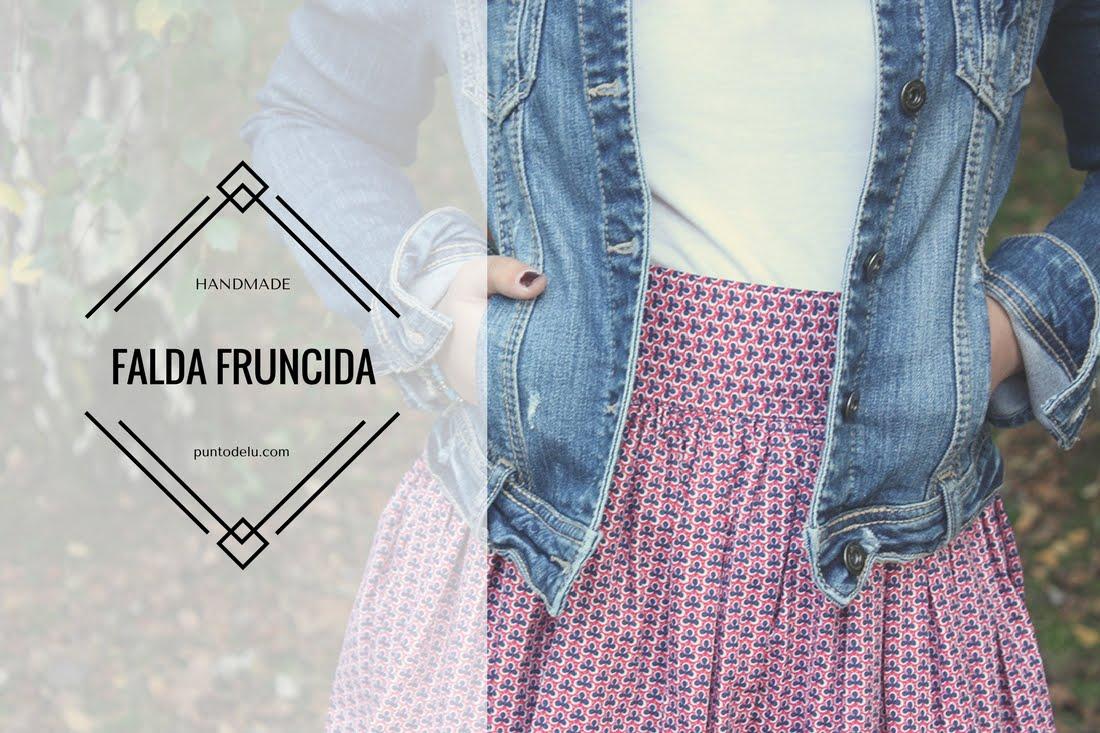 Falda fruncida - Punto de Lu