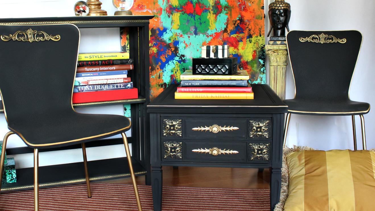 Thrift Store Furniture Flip
