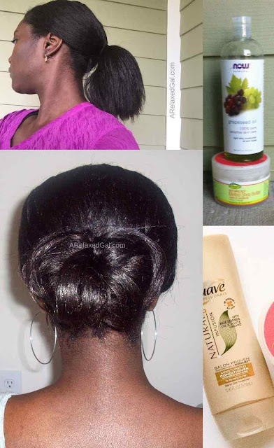 Setting relaxed hair goals for 2016 | A Relaxed Gal