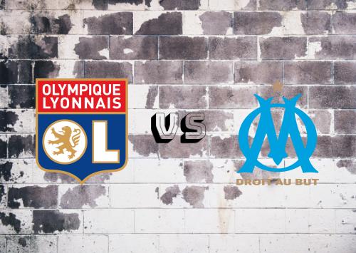 Olympique Lyonnais vs Olympique Marseille  Resumen