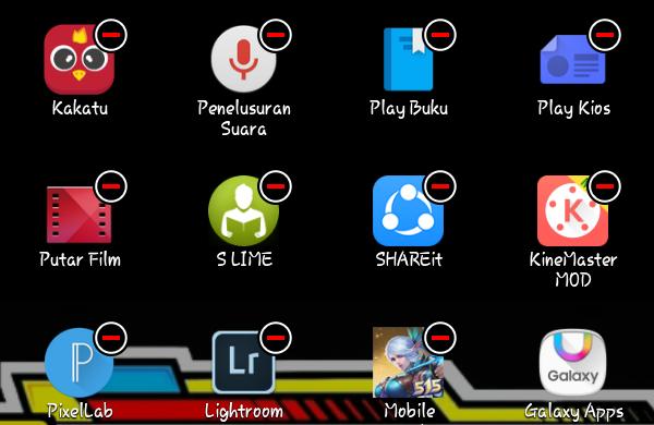 cara menonaktifkan aplikasi bawaan hp android