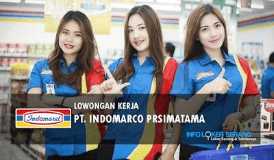 Lowongan Kerja Banyak Posisi PT Indomarco Prismatama Area Cilegon, Pandeglang dan Kab Tangerang