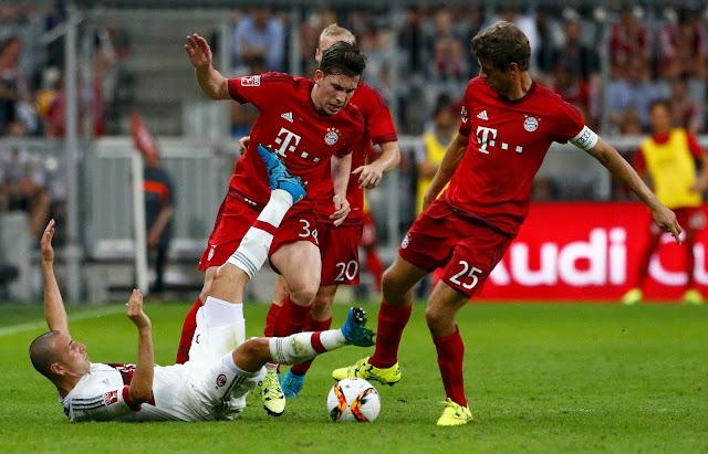 Bayern Munchen vs Milan
