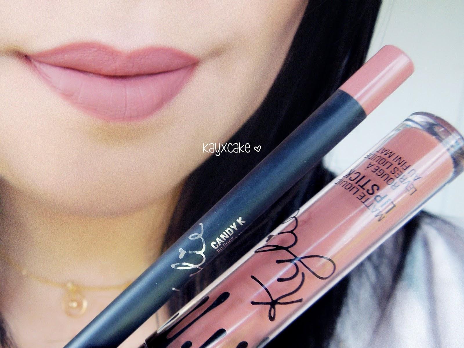Kylie Lip Kits ♡ Koko K Candy K Dolce K Posie K