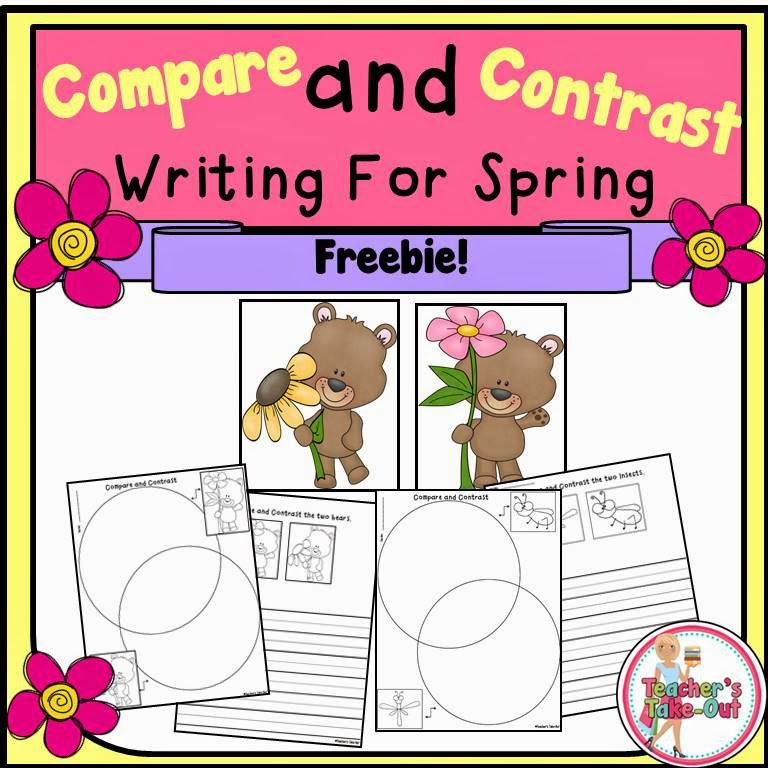 Free Spring Compare and Contrast Writing