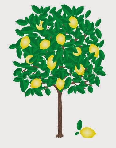 KUMPULAN GAMBAR POHON KARTUN LUCU | Gambar Pohon Buah Tree ...